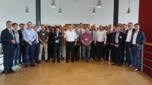 Afgevaardigden van het SMC-consortium bijeen